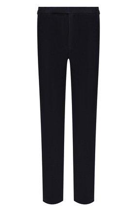 Мужской замшевые брюки RALPH LAUREN темно-синего цвета, арт. 798804742 | Фото 1