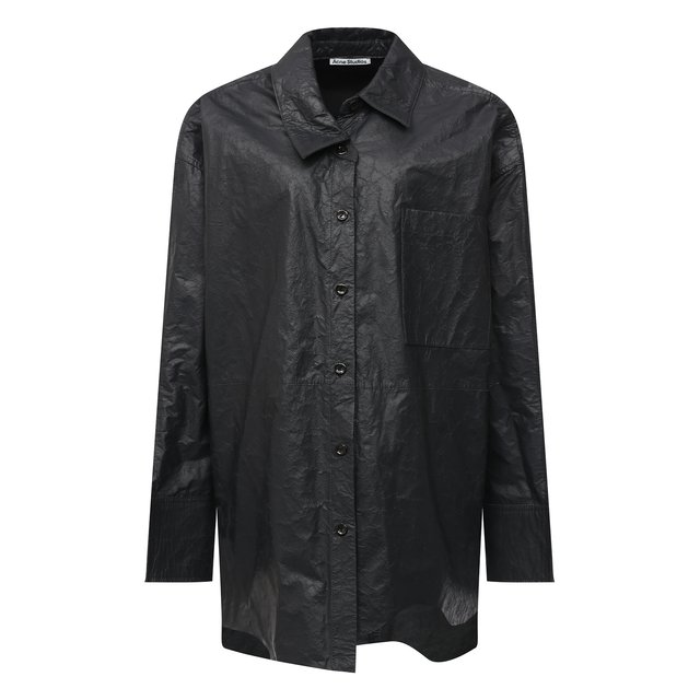 Кожаная рубашка Acne Studios