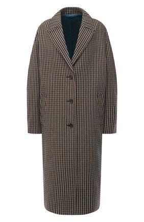 Женское шерстяное пальто ACNE STUDIOS бежевого цвета, арт. A90268 | Фото 1