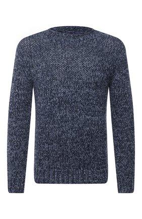 Мужской кашемировый свитер RALPH LAUREN голубого цвета, арт. 790662939 | Фото 1