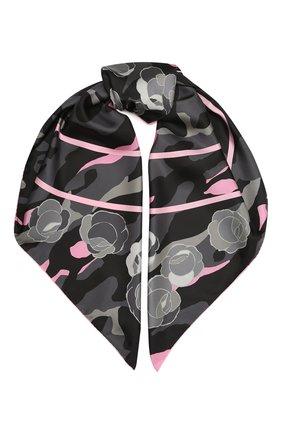 Женский шелковый платок GIORGIO ARMANI фуксия цвета, арт. 795315/0A170 | Фото 1