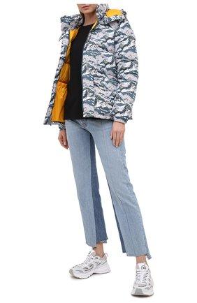 Женский пуховая куртка THE NORTH FACE серого цвета, арт. TA4M8SV32 | Фото 2