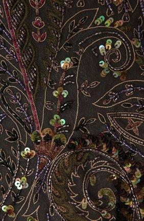 Мужские шелковый шарф RALPH LAUREN разноцветного цвета, арт. 434825918 | Фото 2