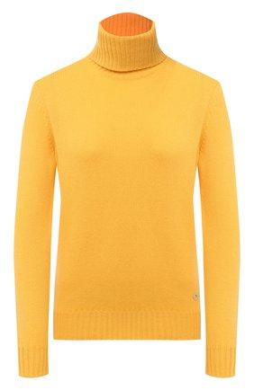 Женская кашемировая водолазка LORO PIANA желтого цвета, арт. FAG3537   Фото 1