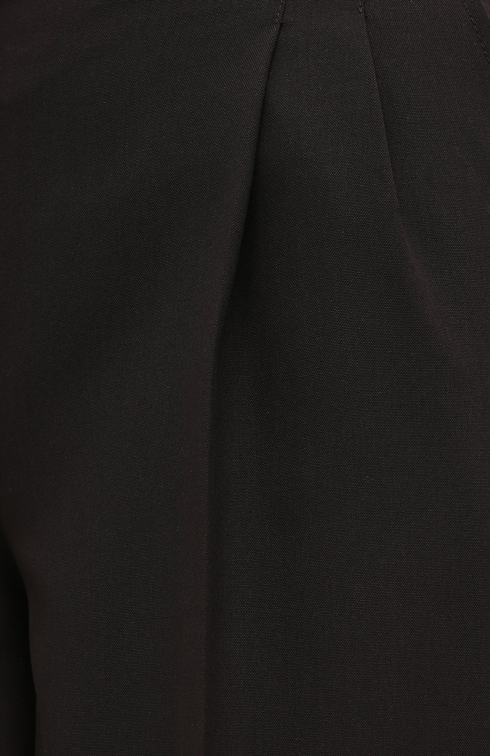 Женские шерстяные шорты CASASOLA коричневого цвета, арт. TRS-D-LUCA/W00L | Фото 5 (Женское Кросс-КТ: Шорты-одежда; Материал внешний: Шерсть; Кросс-КТ: Широкие; Длина Ж (юбки, платья, шорты): До колена; Стили: Кэжуэл)