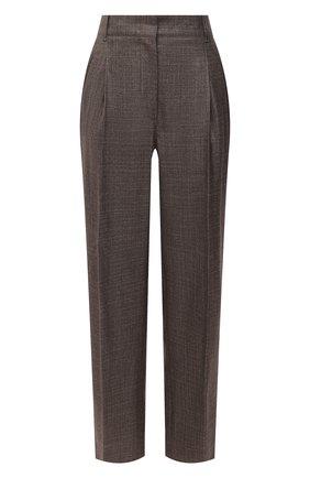 Женские брюки из шелка и кашемира CASASOLA серого цвета, арт. TRS-D-J0BIM/SILK-CASHEMERE | Фото 1