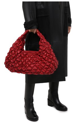 Женская сумка valentino garavani spikeme medium VALENTINO красного цвета, арт. UW0B0H81/EFZ | Фото 2