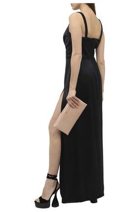 Женские текстильные босоножки TOM FORD черного цвета, арт. W2801R-TVE001 | Фото 2