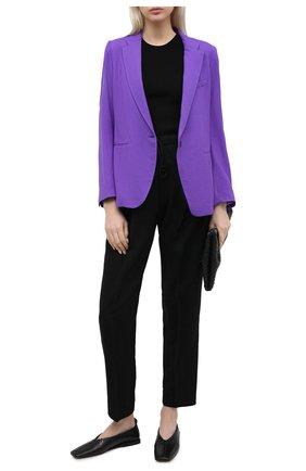 Женский жакет FORTE_FORTE фиолетового цвета, арт. 7728 | Фото 2