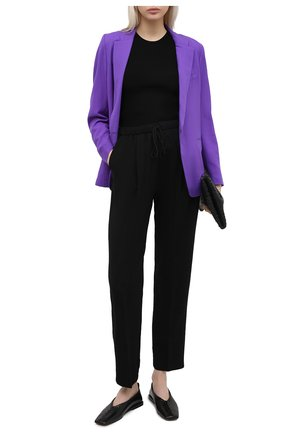 Женские брюки FORTE_FORTE черного цвета, арт. 7730 | Фото 2