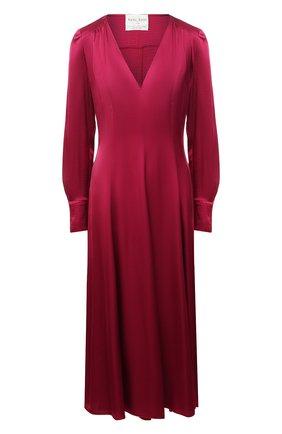 Женское платье из вискозы FORTE_FORTE розового цвета, арт. 7777 | Фото 1