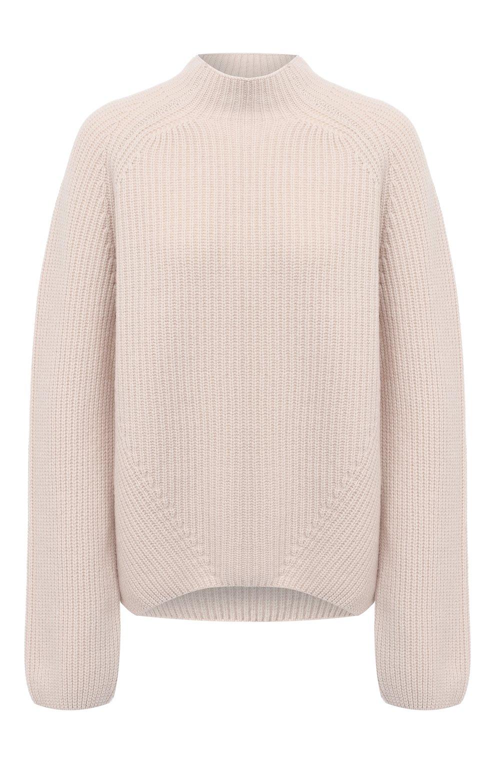 Женский свитер из шерсти и кашемира FORTE_FORTE светло-бежевого цвета, арт. 7845 | Фото 1