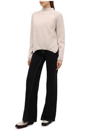Женский свитер из шерсти и кашемира FORTE_FORTE светло-бежевого цвета, арт. 7845 | Фото 2