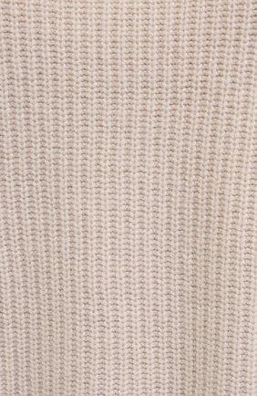 Женский свитер из шерсти и кашемира FORTE_FORTE светло-бежевого цвета, арт. 7845 | Фото 5