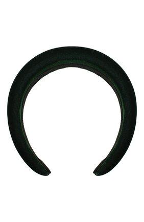 Женский ободок для волос JENNIFER BEHR темно-зеленого цвета, арт. 48BD5   Фото 1