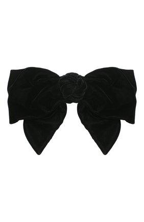 Женская заколка для волос JENNIFER BEHR черного цвета, арт. 48GD7   Фото 1