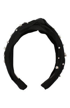 Женский ободок для волос JENNIFER BEHR черного цвета, арт. 77BD10   Фото 1