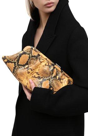 Женский клатч cloud BALENCIAGA коричневого цвета, арт. 618899/13B03 | Фото 2