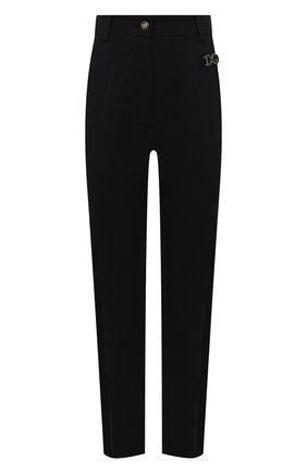 Женские шерстяные брюки DOLCE & GABBANA черного цвета, арт. FTBUZT/FUBEC | Фото 1