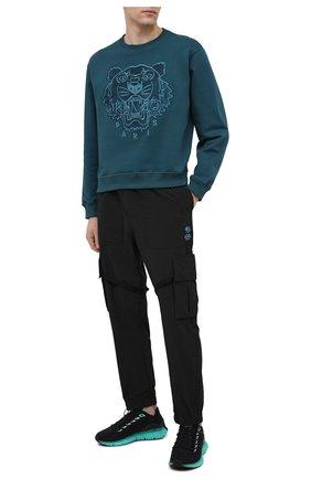 Мужские текстильные кроссовки reebok zig kinetica x assassin's creed valhalla REEBOK черного цвета, арт. GZ8458 | Фото 2