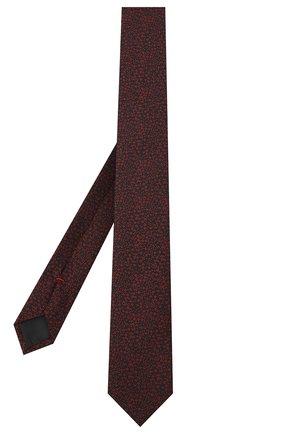 Мужской шелковый галстук HUGO красного цвета, арт. 50447339 | Фото 2