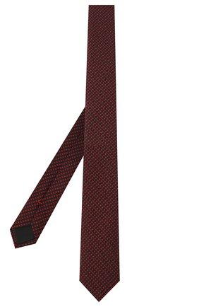 Мужской шелковый галстук HUGO красного цвета, арт. 50447352 | Фото 2