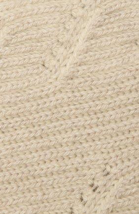 Мужской кашемировый шарф LORO PIANA кремвого цвета, арт. FAL4452 | Фото 2