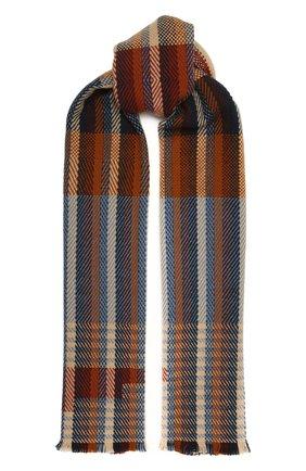 Мужской кашемировый шарф LORO PIANA коричневого цвета, арт. FAL3873 | Фото 1