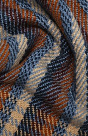 Мужской кашемировый шарф LORO PIANA коричневого цвета, арт. FAL3873 | Фото 2