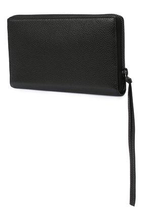Мужская кожаный футляр для документов BALENCIAGA черного цвета, арт. 640115/15Y07 | Фото 2