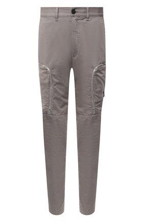 Мужской брюки-карго из хлопка и шерсти STONE ISLAND SHADOW PROJECT серого цвета, арт. 731930508 | Фото 1