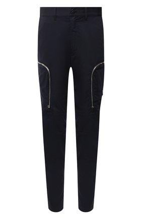 Мужской брюки-карго из хлопка и шерсти STONE ISLAND SHADOW PROJECT темно-синего цвета, арт. 731930508 | Фото 1
