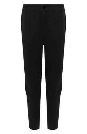 Мужской хлопковые брюки STONE ISLAND черного цвета, арт. 7315309L1 | Фото 1