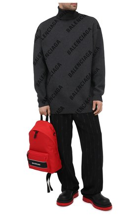 Мужской текстильный рюкзак sport BALENCIAGA красного цвета, арт. 638106/2HFLX | Фото 2