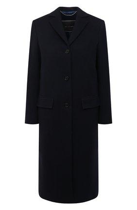 Женское кашемировое пальто KITON темно-синего цвета, арт. D48621K01140 | Фото 1