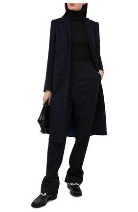 Женское кашемировое пальто KITON темно-синего цвета, арт. D48621K01140 | Фото 2