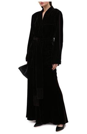 Женский жакет из вискозы RALPH LAUREN коричневого цвета, арт. 293835426 | Фото 2