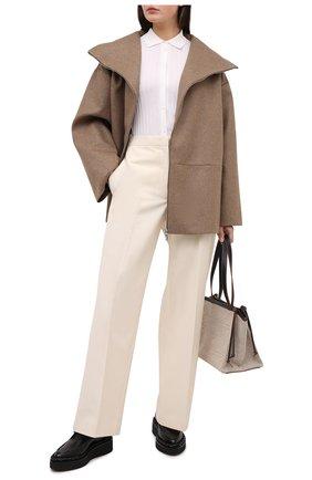 Женское пальто TOTÊME бежевого цвета, арт. MENFI W00L 204-102-718 | Фото 2