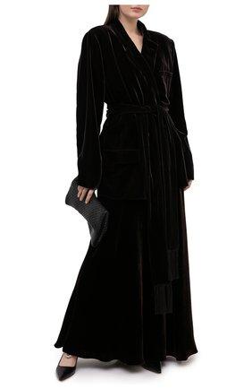 Женская юбка из вискозы RALPH LAUREN коричневого цвета, арт. 290838307 | Фото 2
