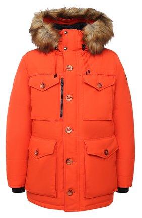 Мужская пуховая парка rlx RALPH LAUREN оранжевого цвета, арт. 784825215   Фото 1