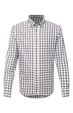 Мужская хлопковая рубашка VAN LAACK коричневого цвета, арт. R0YK-SF/156419 | Фото 1