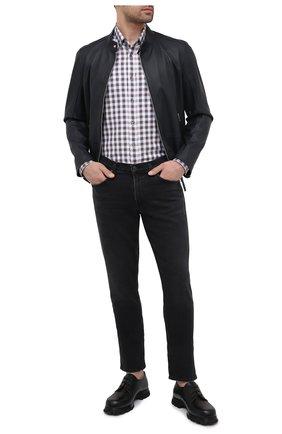 Мужская хлопковая рубашка VAN LAACK коричневого цвета, арт. R0YK-SF/156419 | Фото 2