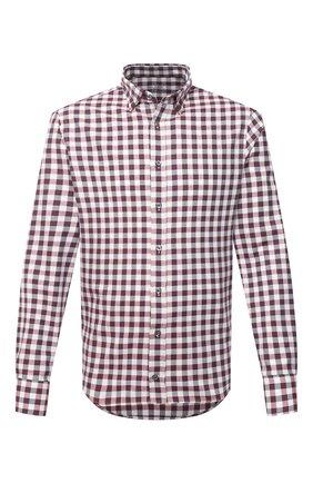 Мужская хлопковая рубашка VAN LAACK бордового цвета, арт. R0YK-SF/156419 | Фото 1