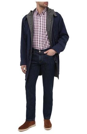 Мужская хлопковая рубашка VAN LAACK бордового цвета, арт. R0YK-SF/156419 | Фото 2