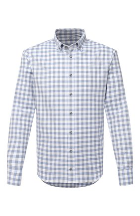 Мужская хлопковая рубашка VAN LAACK голубого цвета, арт. R0YK-SF/156419 | Фото 1