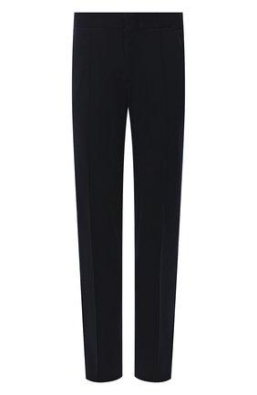 Мужской шерстяные брюки ZILLI темно-синего цвета, арт. M0U-40-A-D6481/0001 | Фото 1