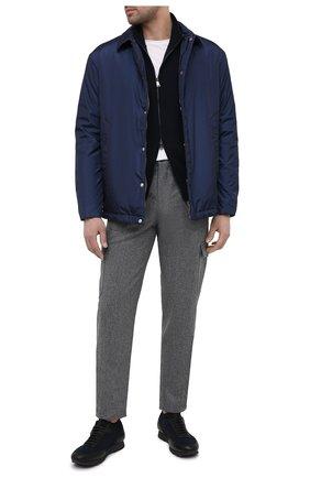 Мужская пуховая куртка ZILLI SPORT темно-синего цвета, арт. MAU-ZS005-00000/0001 | Фото 2