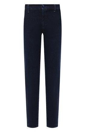 Мужские джинсы ZILLI SPORT темно-синего цвета, арт. MCU-00500-0RDE9/S001 | Фото 1