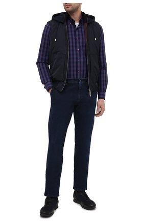 Мужские джинсы ZILLI SPORT темно-синего цвета, арт. MCU-00500-0RDE9/S001 | Фото 2