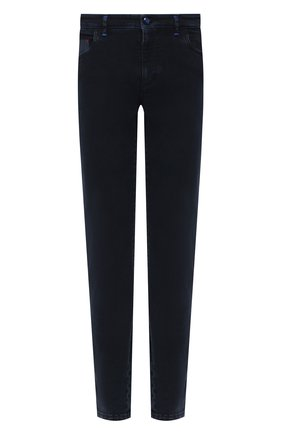 Мужские джинсы ZILLI SPORT темно-синего цвета, арт. MCU-00510-DEBB9/S001 | Фото 1